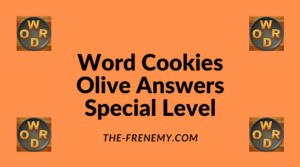 Word Cookies Olive Special Level Answers