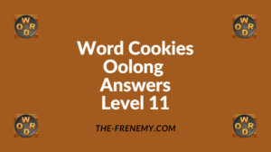 Word Cookies Oolong Level 11 Answers