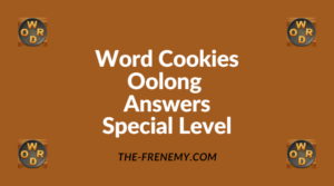 Word Cookies Oolong Special Level Answers