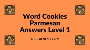 Word Cookies Parmesan Level 1 Answers