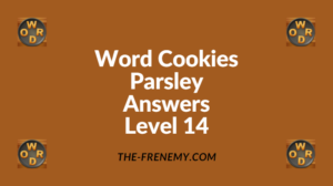 Word Cookies Parsley Level 14Answers