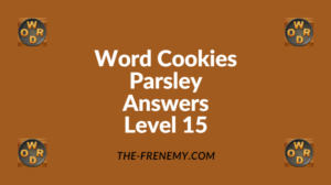 Word Cookies Parsley Level 15 Answers
