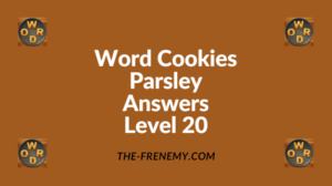 Word Cookies Parsley Level 20 Answers