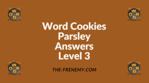 Word Cookies Parsley Level 3 Answers