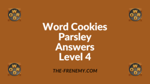 Word Cookies Parsley Level 4 Answers