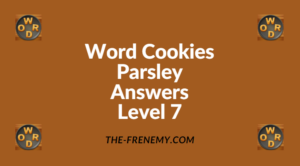 Word Cookies Parsley Level 7 Answers