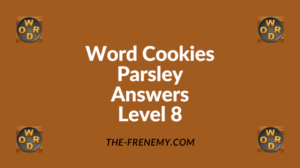 Word Cookies Parsley Level 8 Answers