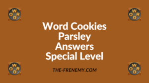 Word Cookies Parsley Special Level Answers