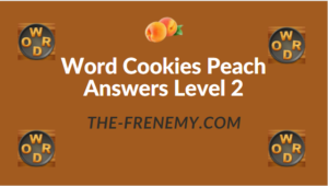 Word Cookies Peach Answers Level 2