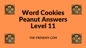 Word Cookies Peanut Level 11 Answers