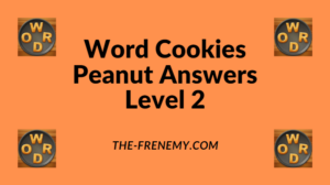 Word Cookies Peanut Level 2 Answers