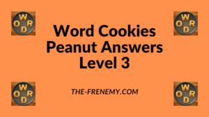 Word Cookies Peanut Level 3 Answers