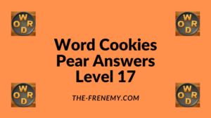 Word Cookies Pear Level 17 Answers