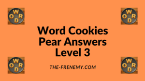 Word Cookies Pear Level 3 Answers