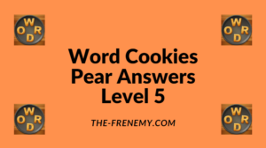 Word Cookies Pear Level 5 Answers