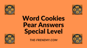 Word Cookies Pear Special Level Answers