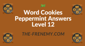 Word Cookies Peppermint Answers Level 12