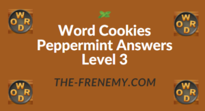 Word Cookies Peppermint Answers Level 3