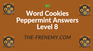 Word Cookies Peppermint Answers Level 8