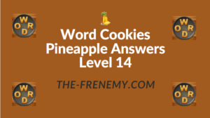 Word Cookies Pineapple Answers Level 14