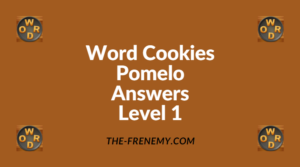 Word Cookies Pomelo Level 1 Answers