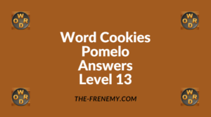 Word Cookies Pomelo Level 13 Answers