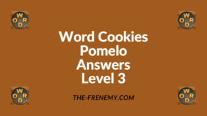Word Cookies Pomelo Level 3 Answers