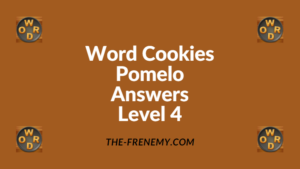 Word Cookies Pomelo Level 4 Answers