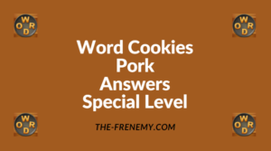 Word Cookies Pork Special Level Answers