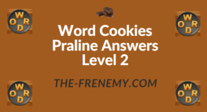 Word Cookies Praline Answers Level 2