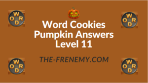 Word Cookies Pumpkin Answers Level 11