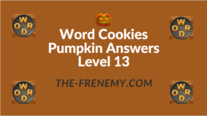 Word Cookies Pumpkin Answers Level 13