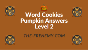 Word Cookies Pumpkin Answers Level 2
