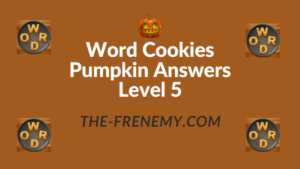 Word Cookies Pumpkin Answers Level 5
