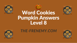Word Cookies Pumpkin Answers Level 8