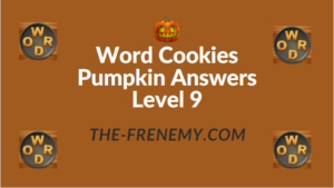 Word Cookies Pumpkin Answers Level 9