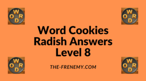 Word Cookies Radish Level 8 Answers