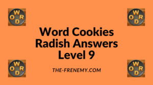 Word Cookies Radish Level 9 Answers