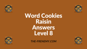 Word Cookies Raisin Level 8 Answers