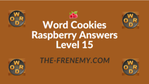 Word Cookies Raspberry Answers Level 15