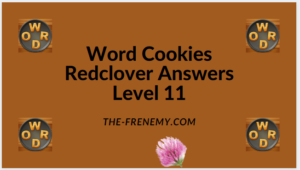 Word Cookies Redclover Level 11 Answers
