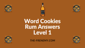 Word Cookies Rum Answers Level 1
