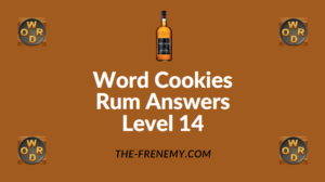 Word Cookies Rum Answers Level 14