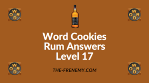 Word Cookies Rum Answers Level 17