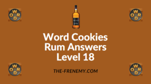 Word Cookies Rum Answers Level 18