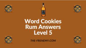Word Cookies Rum Answers Level 5