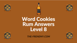 Word Cookies Rum Answers Level 8