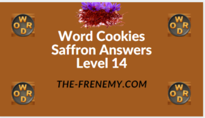Word Cookies Saffron Level 14 Answers