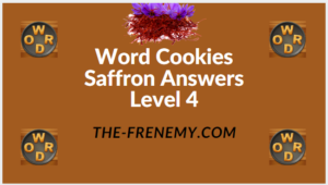 Word Cookies Saffron Level 4 Answers