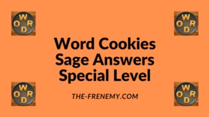 Word Cookies Sage Special Level Answers